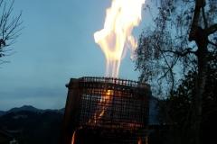 Feuer bei Nacht